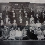 Centenary Wesleyan Church, St Saviourgate (now known as Central Methodist Church). Choir photograph taken in 1929.