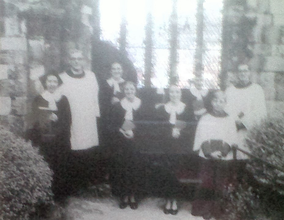 St Denys' Church. Choir photograph from an unknown date.