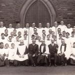 St Lawrence's Church. Choir photograph.
